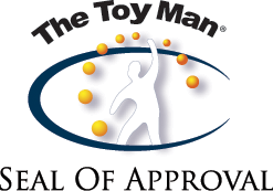 The Toy Man Seal of Approval